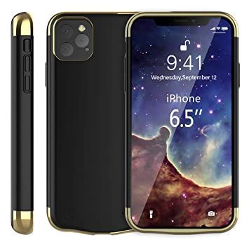fitmore Funda Batería para iPhone 11 Pro MAX 6.5 Inch 6000mAh Batería, Batería Externa Portátil Cargador Power Bank Case Compatible con iPhone 11 Pro ...
