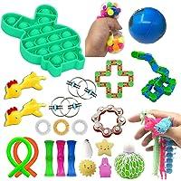Hinder Sensoriska leksaker för autism, tryck bubbla sensorisk leksak för ADHD dekomprimering ångestlindring gåva för…