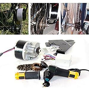 61PXemZ4szL. SS300 250 W elettrica Spazzola Motore per Bicicletta di acceleratore con Interruttore a Chiave e la Tensione della Batteria Facile motorsatz per Fai da Te e Bike
