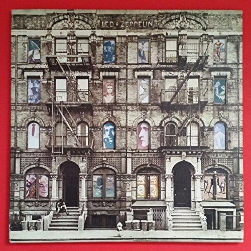 LED ZEPPELIN Physical Graffiti Dbl LP Vinyl Insert 1975 SS 2 200
