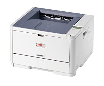 OKI B411D - Impresora láser (2400 x 600 DPI, 60000 páginas por mes, Laser, 33 ppm, 20 s, 5 s)