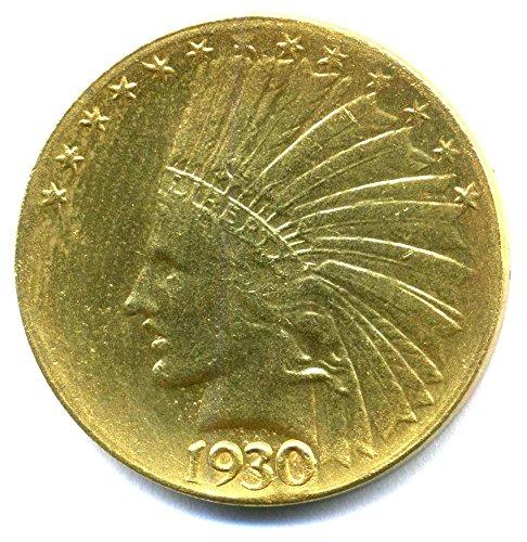 coin-us-1930-10-indian-head-replica