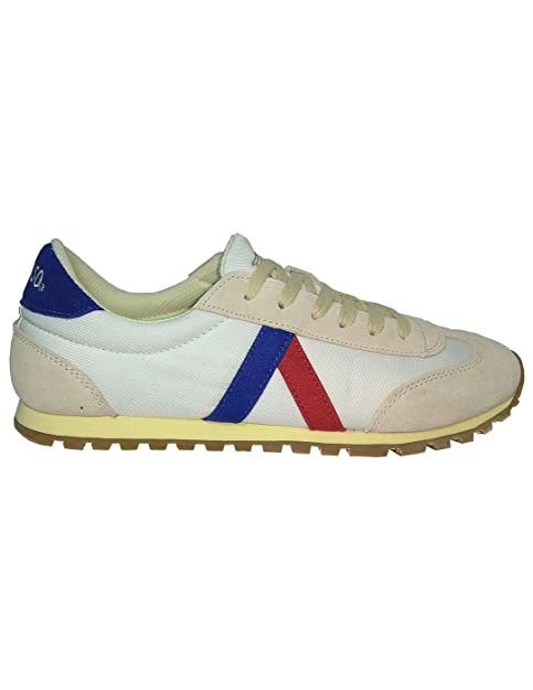 El Ganso Zapatillas RWALKING Wash Blanca 45: Amazon.es: Zapatos y complementos