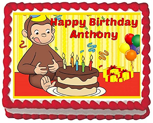 Fantastic Curious George Cake Shop Curious George Cake Online Personalised Birthday Cards Beptaeletsinfo