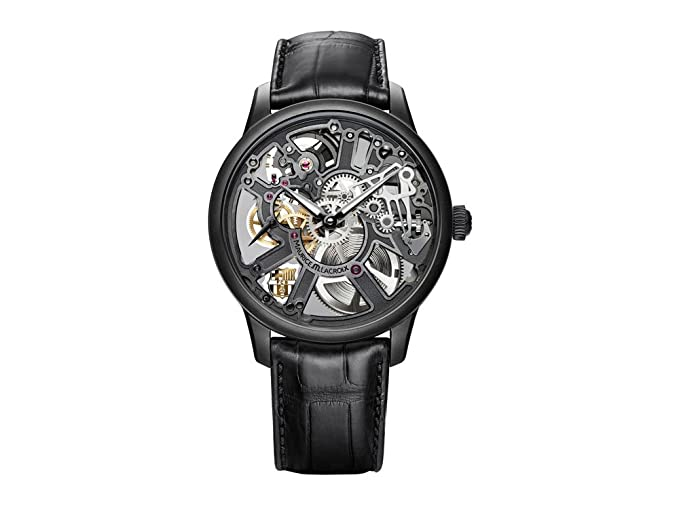 Reloj Maurice Lacroix Masterpiece Squelette FC Barcelona, Carga manual, ML 134: Amazon.es: Relojes