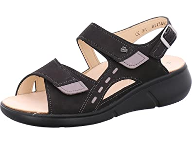 FINNCOMFORT Damen Sandaletten SUVA 03352901756 Schwarz 466616