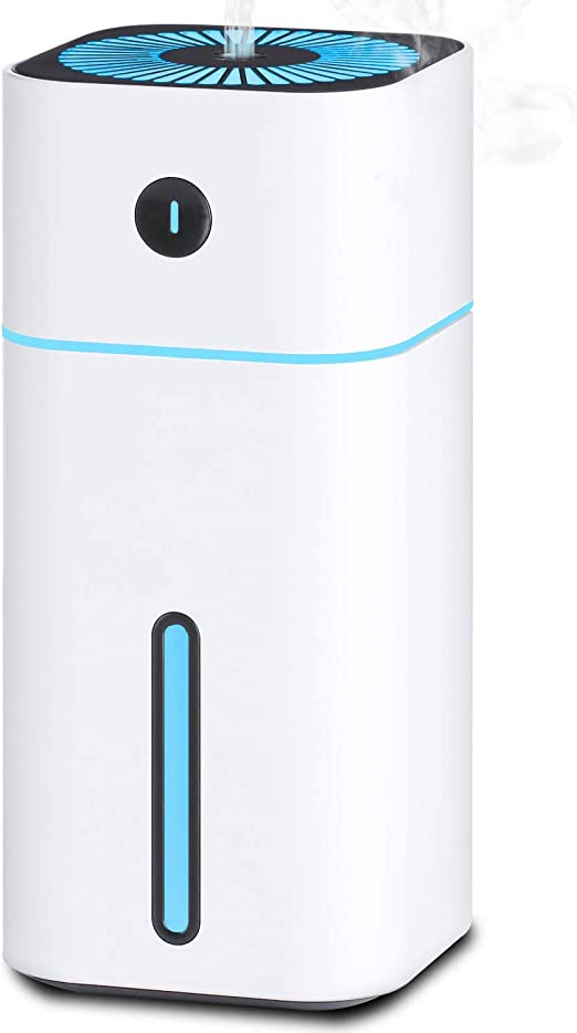 Mini USB Air Humidifier Car Office Portable Wireless Ultrasonic Cool Mist Desk