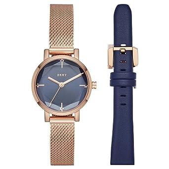 DKNY Reloj Analógico para Mujer de Cuarzo con Correa en Acero Inoxidable NY2679: DKNY: Amazon.es: Relojes