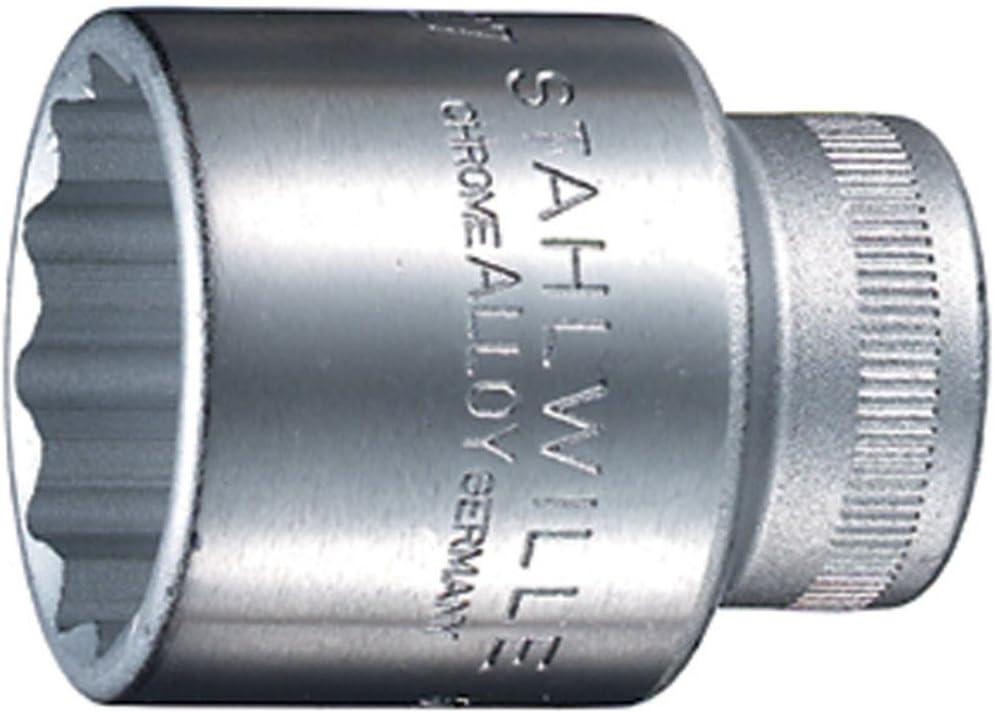 Stahlwille Bi-Hexagon Socket 1//2in Drive 14mm