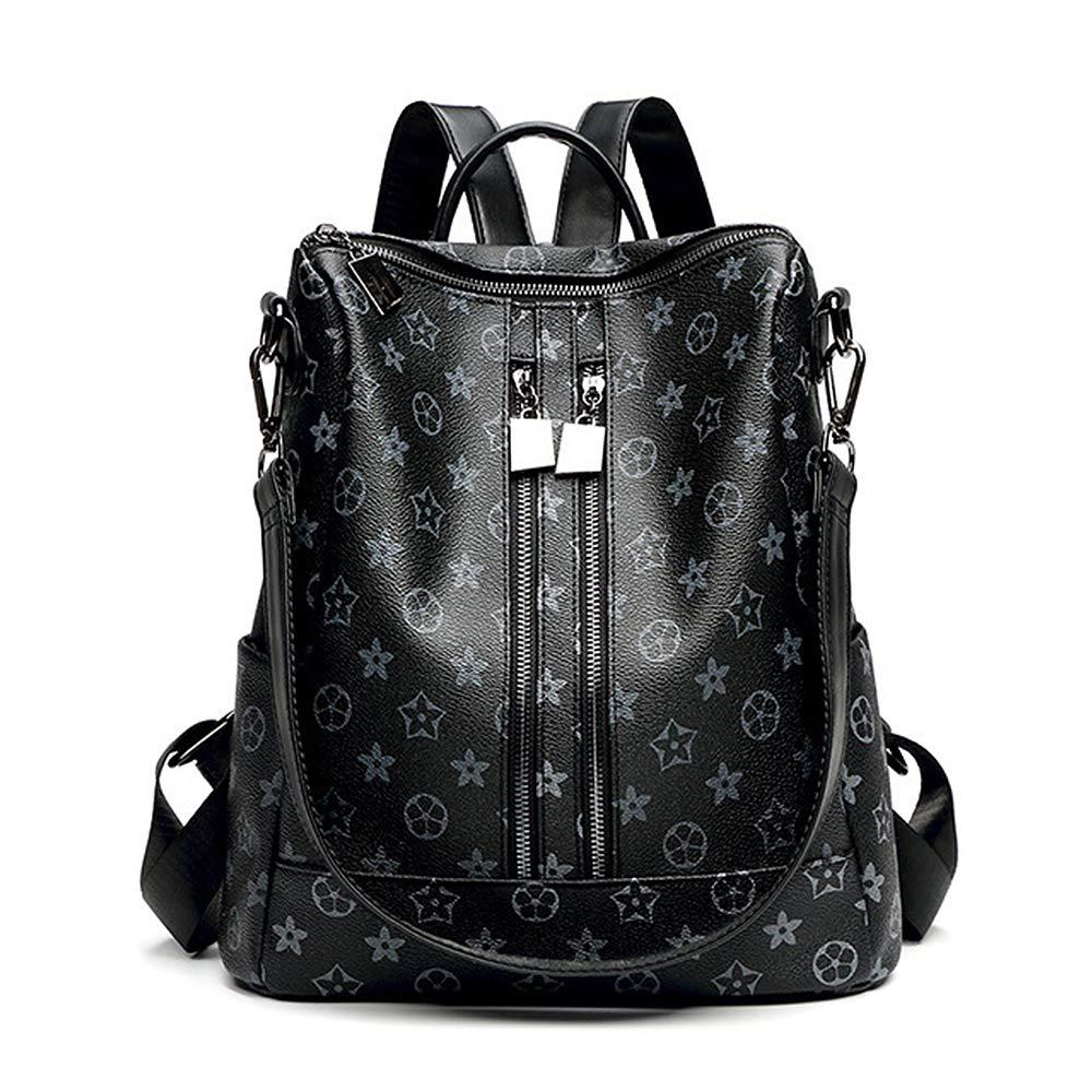Olyphy Fashion Leather Backpack Purse for Women, Designer PU Shoulder Bag Handbags Travel Purse (Stlye 5)