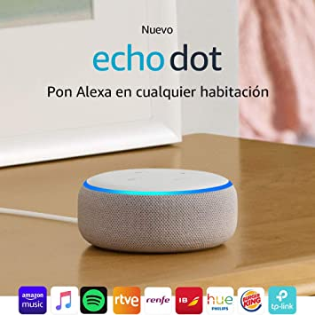 Echo Dot (3.ª generación) - Altavoz inteligente con Alexa ...