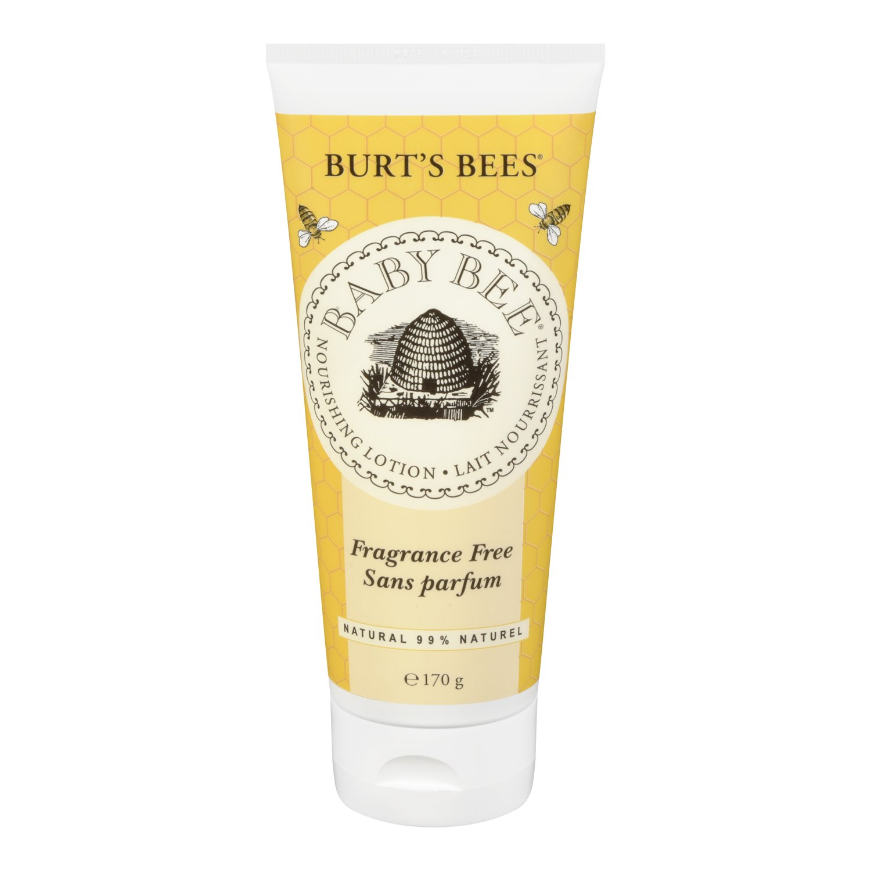Burt's Bees Baby Nourishing Lotion, Fragrance Free, 170g Burt's Bees 01002-14