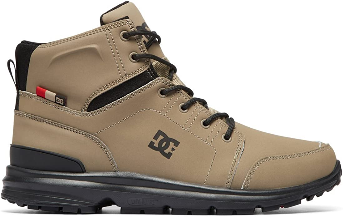 DC Shoes Torstein Sneakers High Tops Herren Größe 39 bis 47 Beige (Timber)