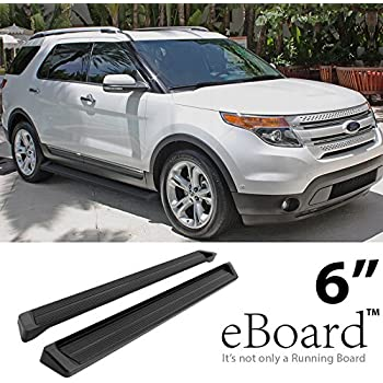 EBoard Running Boards Black 6 For 2011 2017 Ford Explorer Sport Utility 4