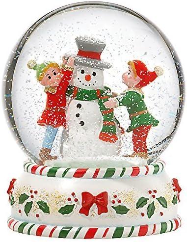 kathy ireland Home Elves Snowglobe Figurine