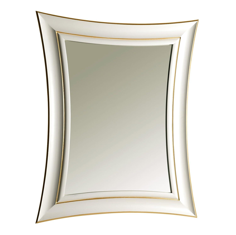 3sc spiegel via veneto weiss und gold 83x103 cm vv21. Black Bedroom Furniture Sets. Home Design Ideas