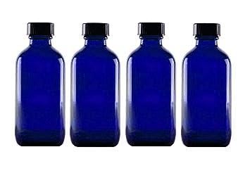 554f9009c333 Amazon.com : Perfume Studio 4oz Essential Oil Glass Bottles - Pack ...