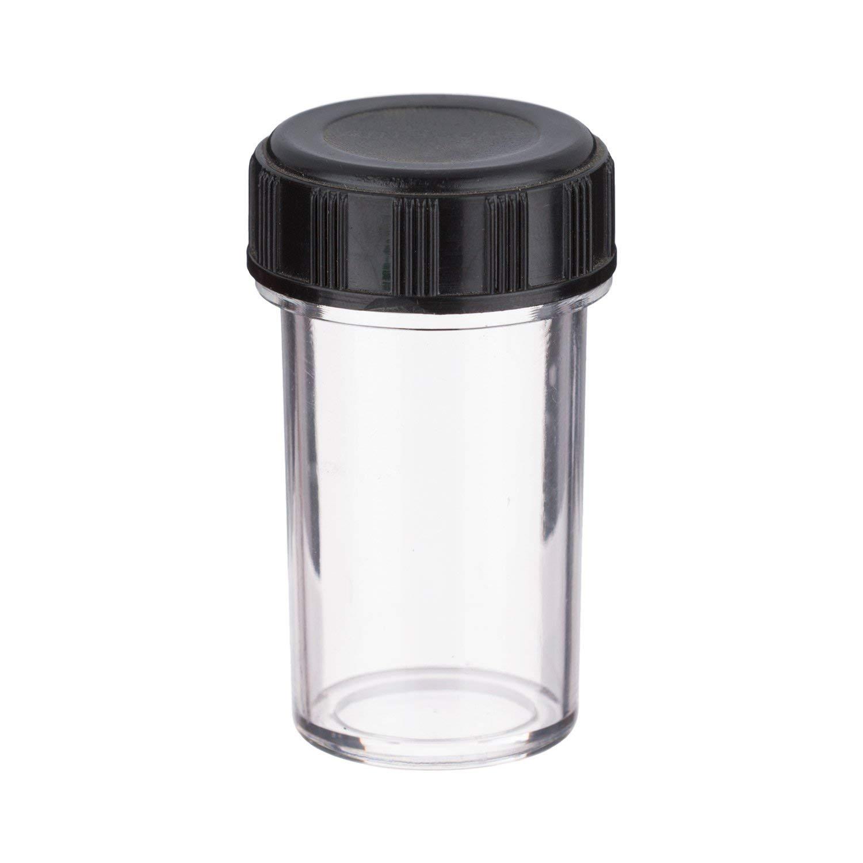 AmScope RMSスレッドと顕微鏡の対物レンズ用プラスチック容器   B06WWN2JY4