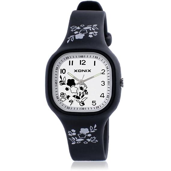 relojes simples de la moda/reloj de cuarzo de la muchacha china del viento/Impermeable tabla de punteros-F: Amazon.es: Relojes