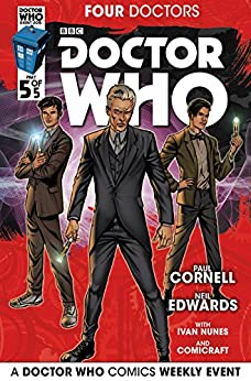 Doctor Who 2015 Event: The Four Doctors #5 by [Cornell, Paul]