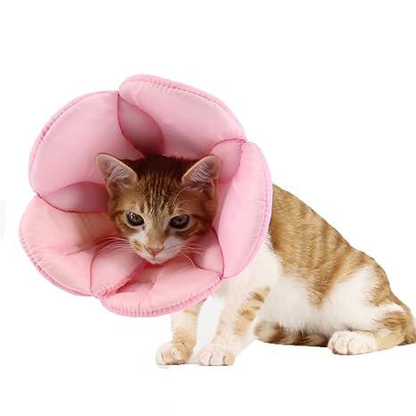 Collarín de recuperación isabelino, de la marca Suayan, para perros y gatos