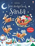 First Sticker Book Santa, Sam Taplin, 079453130X