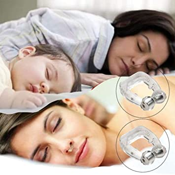 ClipN Imán Anti de los ronquidos Health Sleeping Aid Equipment Stopper Anti ronquido Relieve Snoring Stopper