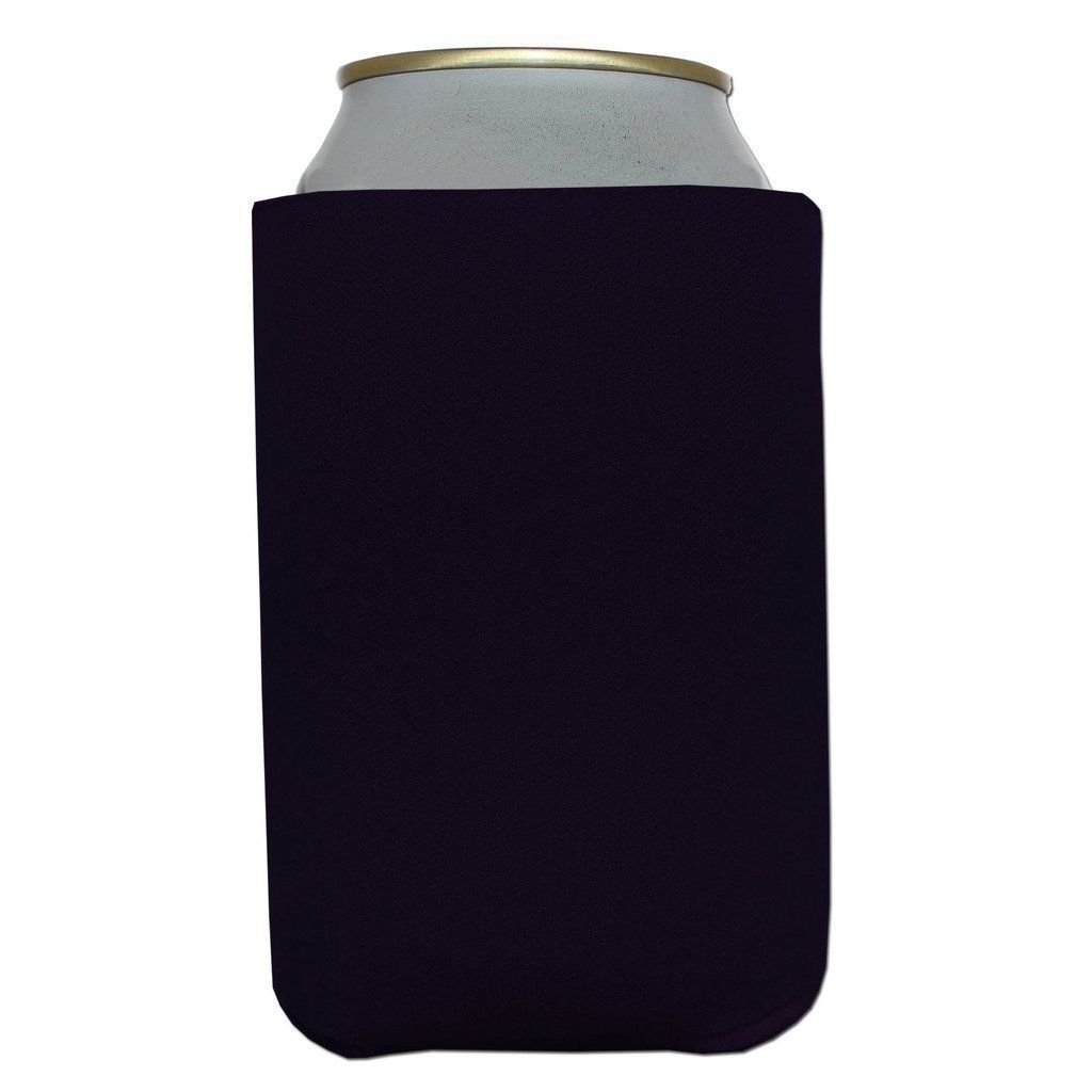 400 Premium Blank Beverage Insulator Can Cooler for Soda and Beer (Black) by Big Ol'