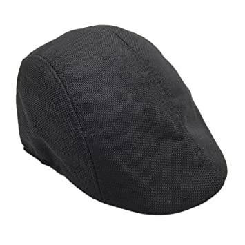 Amazon.com  Flat Gatsby Hat for Men 81360533acd