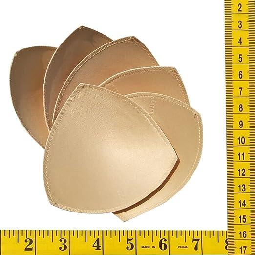 7a198d78b6109 UGThome 3 pairs Triangle Circular Sew Women Sports Yoga Bikini Top Bra Pad  Insert (