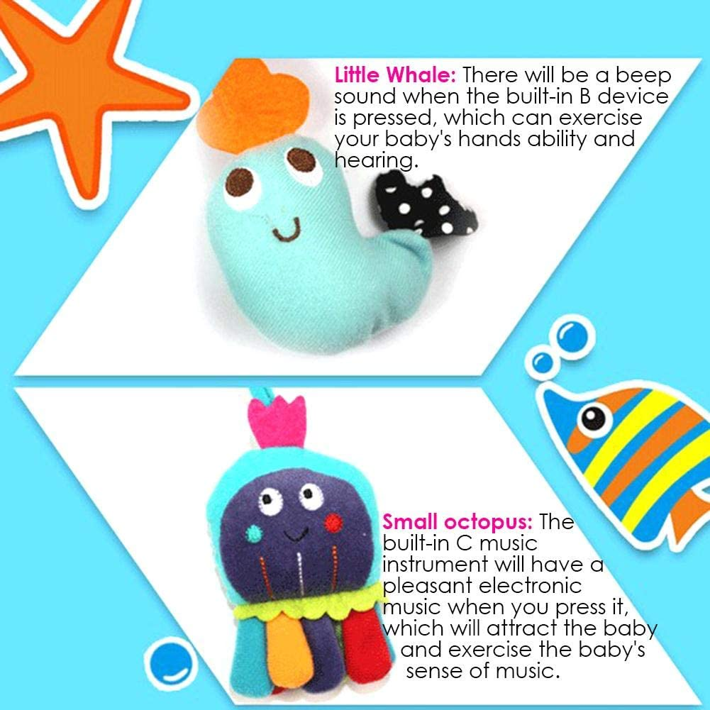 Mississ Arch Pendant Animal-shape Toys Crib Stroller Accessories Baby Crib Hanging Toy