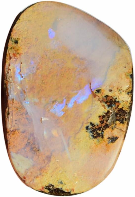 A One Grade Queensland - Cabujón de ópalos de fuego, color rosa y verde, 33 x 22 x X6 mm, piedra colgante proveedores AG-6386