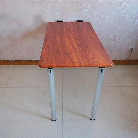 STTS Lazy Table- Mesa Plegable abatible de Pared con Patas, Mesa ...