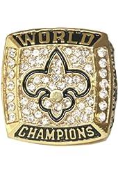 Bebas Biaya Cacat New Orleans Saints Super Bowl Championship Ring Champion Statement Men Jewelry