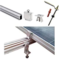 Estructura Placa solar Alu tejado perforante Solar panel structure (1 Panel)