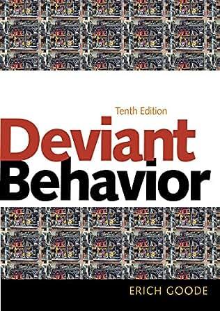 Deviant behavior 10th edition
