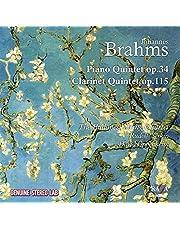 Brahms: Clarinet Quintet & Piano Quintet