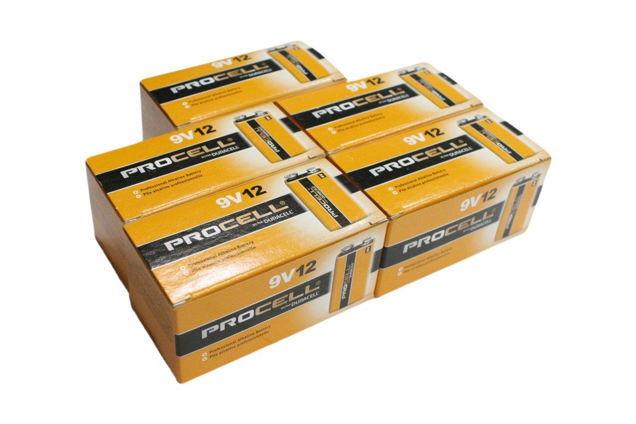 【DURACELL】PROCELL デュラセル プロセル 9V電池 エフェクター/楽器用アルカリ電池 60個セット DP-9V-60pcs B00ZOGUZ8M 60個60個