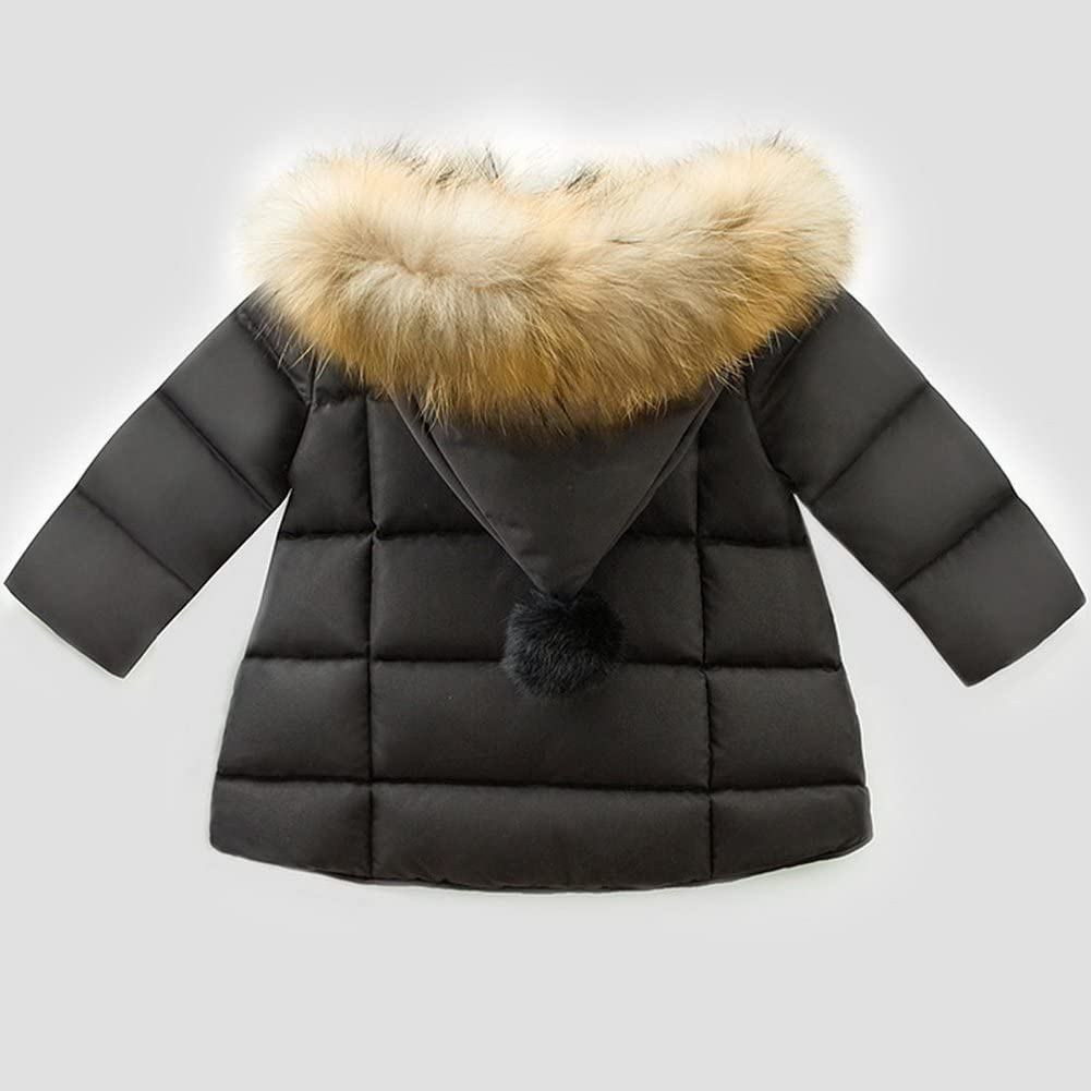 Odziezet Baby Hooded Jacket Girl Boy Long Sleeve Parka Down Coat Autumn Winter Warm Clothes 0-7 Years