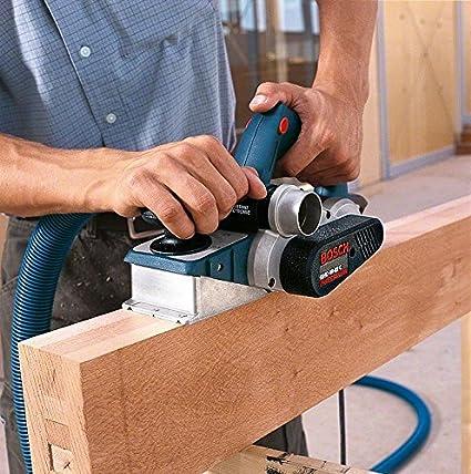 Falztiefenanschlag, Parallelanschlag, Staubbeutel, Zusatzmesser, Koffer, 850 Watt, Hobelbreite: 82 mm, Spandicke einstellbar: 0-0,4 mm Bosch Professional Hobel GHO 40-82 C