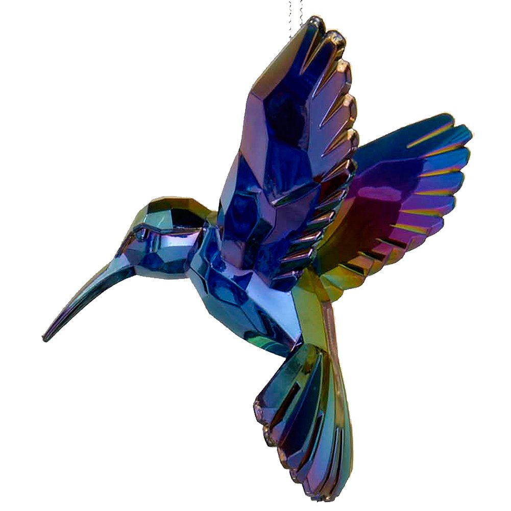 Acrylic Hummingbird Ornament Purple T1509-C Kurt Adler