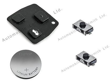 Kit de reparación de Bricolaje – para Toyota 2 o 3 Botones de Mando a Distancia