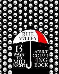 13 Ways to Midnight: Adult Coloring Book (The Midnight Saga)
