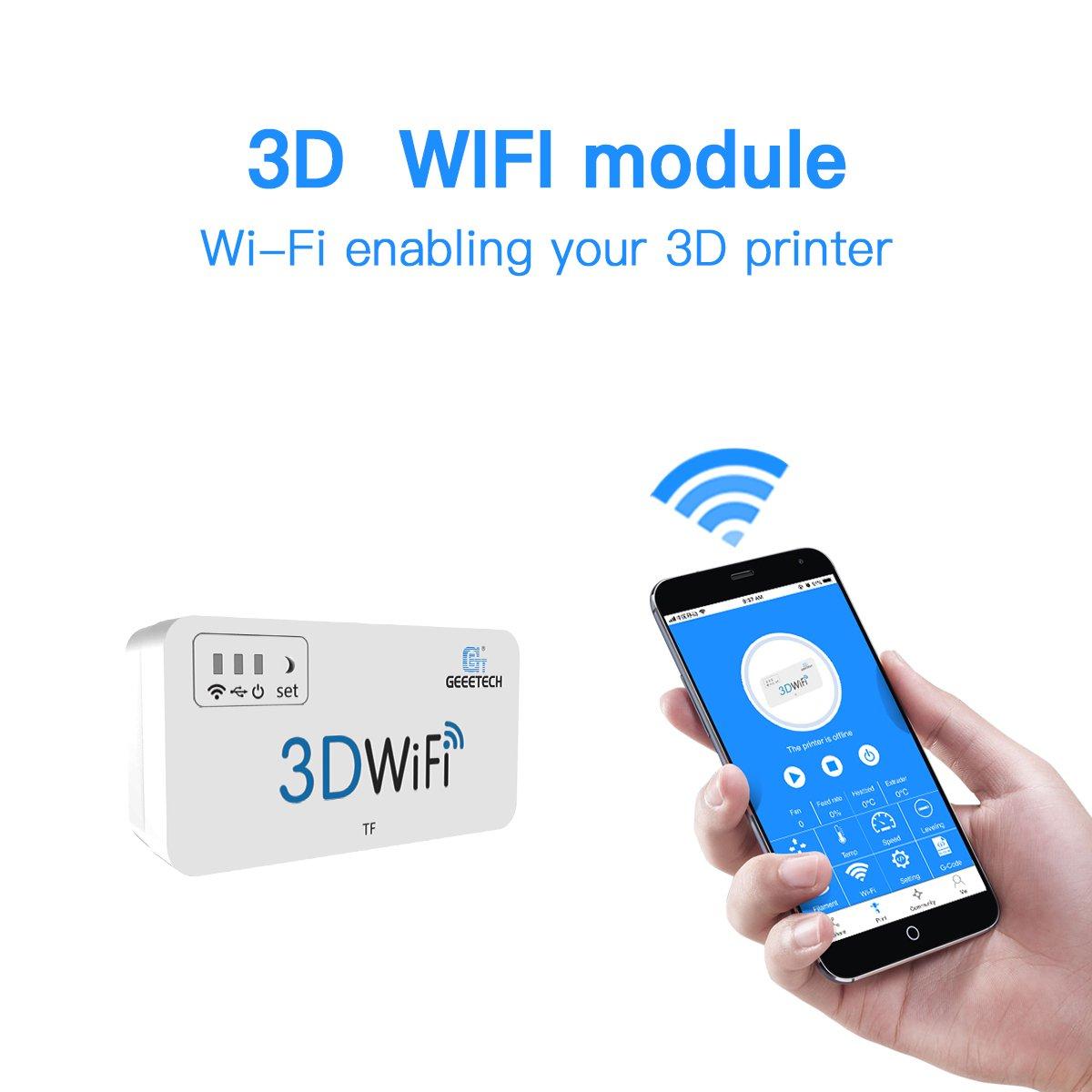 Geeetech Módulo Wifi 3D para impresora 3D, fácil de usar, sin ...
