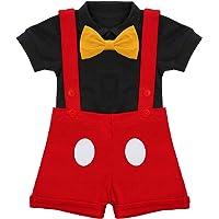 Baby Boy Gentleman Formal Suit Tuxedo Bowtie Romper Suspenders Cake Smash Outfit Wedding Bib Pants Overalls Clothes