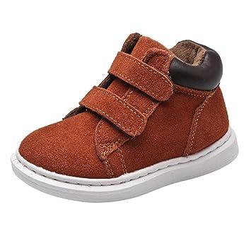 Zapatos Bebe Invierno Botines - Juleya zapatos bebe niña recien nacida de vestir zapatillas Niño Botas para niño calzado: Amazon.es: Deportes y aire libre