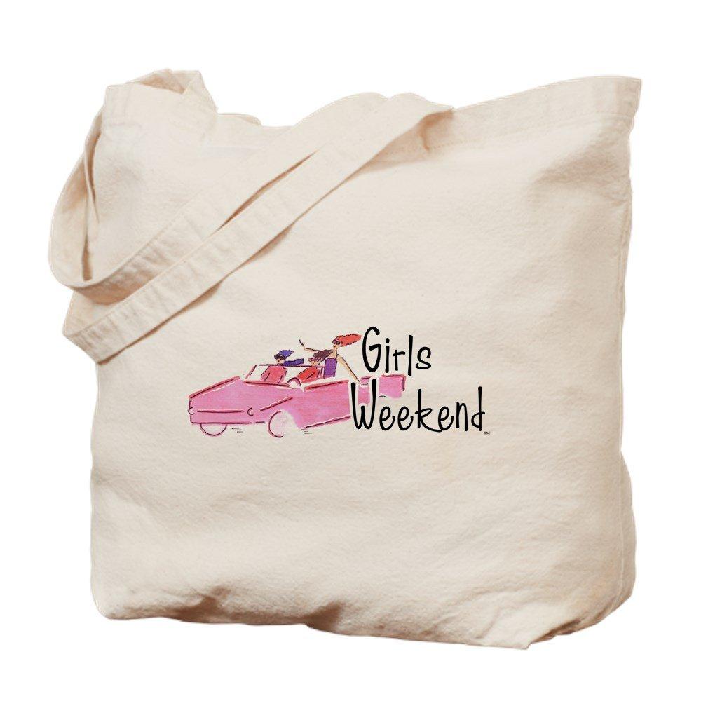 CafePress – girlsweekend – ナチュラルキャンバストートバッグ、布ショッピングバッグ B01JNG3W7O