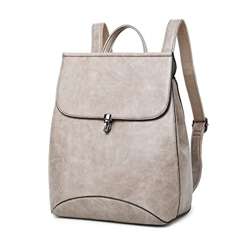 WINK KANGAROO Fashion Shoulder Bag Rucksack PU Leather Women Girls Ladies  Backpack Travel bag (Dark grey)  Amazon.ca  Shoes   Handbags 9fceab67f9f23