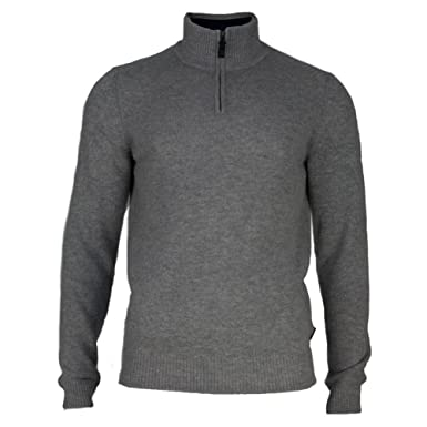 dde31012b66 Amazon.com: Ben Sherman Men's Half Zip Funnel Neck Sweater: Clothing