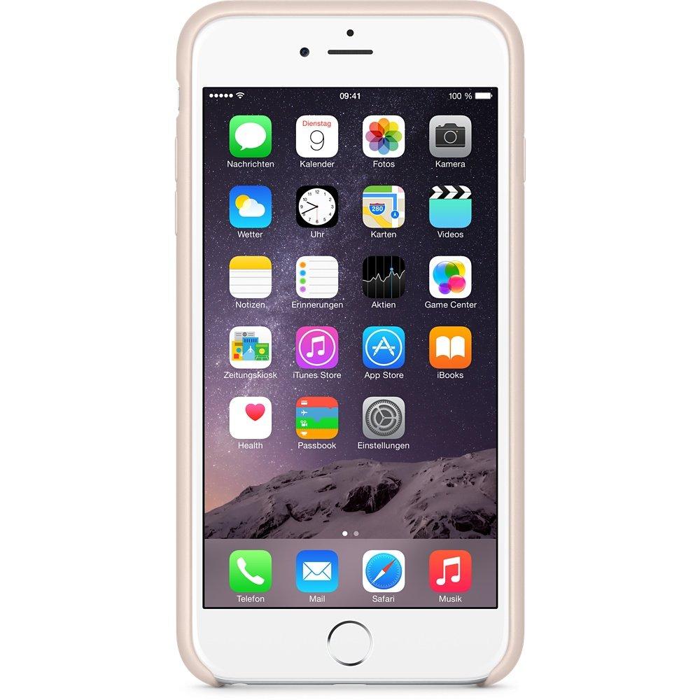 IProtectR Apple IPhone 6 47 Hulle Kunstleder Hard Case Schutzhulle Beige Amazonde Elektronik